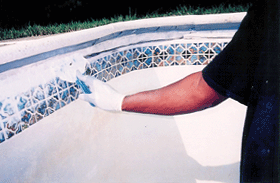 Using our 11,700 PSI structural putty  helps create a watertight seal.